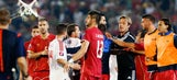 Serbian police recover drone that flew Albanian banner during Euro qualifier