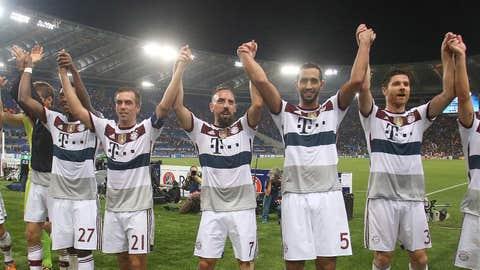 Bayern Munich (Last week: No. 2)