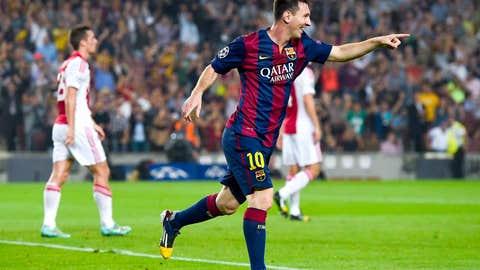 Barcelona (Last week: No. 5)
