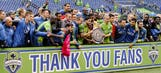 Seattle claims first Supporters Shield with victory over LA Galaxy