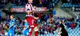 Atletico Madrid squeak out win at Getafe to keep pace in title race