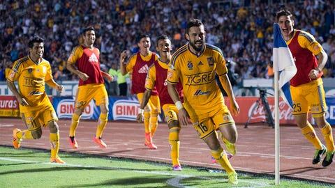 Herculez Gomez and Jose Torres, Tigres UANL
