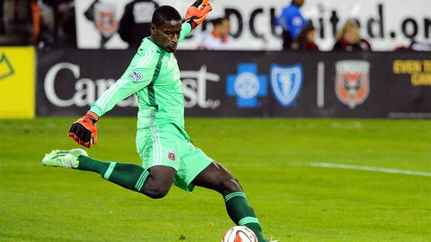 Bill Hamid, D.C. United goalkeeper
