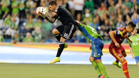 Nick Rimando, Real Salt Lake goalkeeper