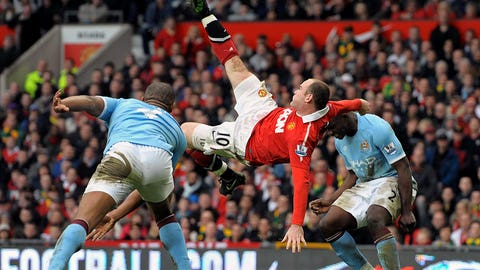 2011: Rooney's amazing bicycle kick