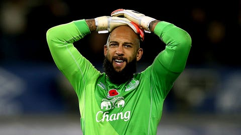 Tim Howard, Everton goalkeeper