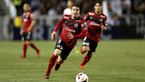 Paul Arriola and Greg Garza, Club Tijuana