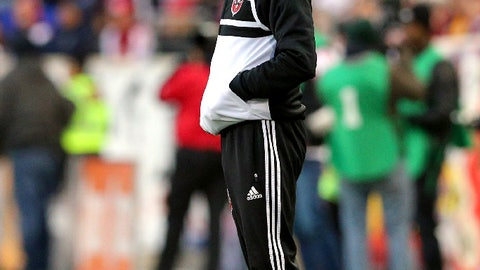 D.C. United – down 2-0 on aggregate to New York – second leg: v. New York on Saturday