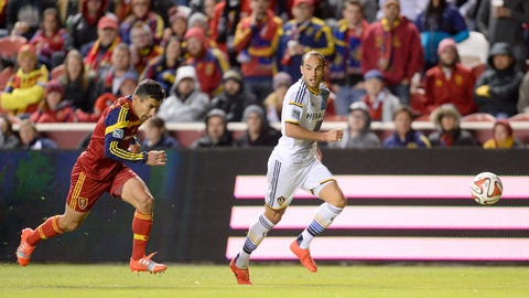 LA Galaxy – tied 0-0 on aggregate with Real Salt Lake – second leg: v. Real Salt Lake on Sunday