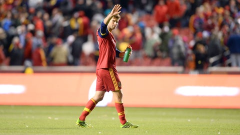 Real Salt Lake – tied 0-0 on aggregate with LA Galaxy – second leg: at LA Galaxy on Sunday
