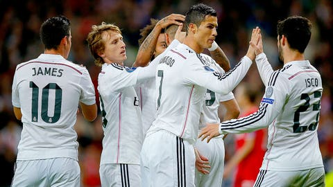 Real Madrid (Last week: 4)
