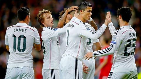 Real Madrid (Last week: 4)