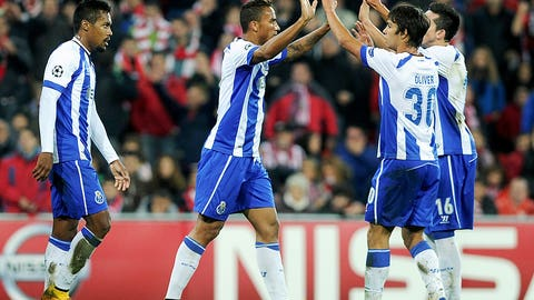 Porto (Last week: Not ranked)