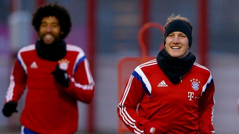 Schweinsteiger makes return as Bayern Munich host surprise-package Hoffenheim (live, Saturday, 9:30 a.m. ET)