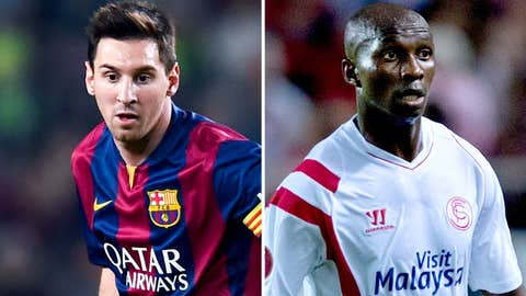 Lionel Messi hopes to break scoring record in Barcelona's clash vs. Sevilla (live, Saturday, 2 p.m. ET)