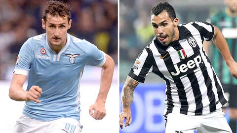 Serie A leaders Juventus head to fifth-placed Lazio in Saturday night showdown (live, 2:45 p.m. ET)