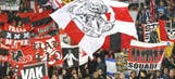 Nearly 100 armed Ajax fans arrested in Paris on eve of UCL game