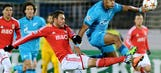 Danny's strike helps Zenit eliminate Benfica from Champions League