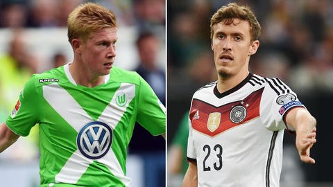 Wolfsburg vs. Monchengladbach, Sunday, 9:30 AM ET