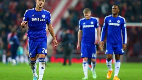 Chelsea's attack goes off the boil vs. Sunderland