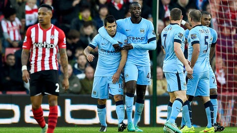 Southampton couldn't capitalize against Manchester City