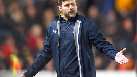Tottenham cannot put a complete 90 minutes together