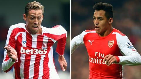 Premier League: Stoke City vs. Arsenal (live, Saturday, 10 a.m. ET)