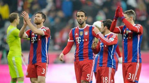Bundesliga: Augsburg vs. Bayern Munich (live, Saturday, 9.30 a.m. ET)
