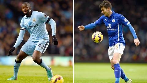 Premier League: Leicester City vs. Manchester City (live, Saturday, 10 a.m. ET)