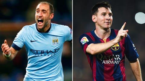 February 24: Manchester City – Barcelona