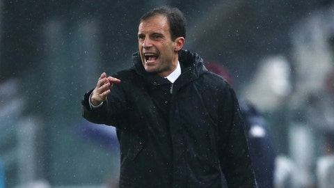 Max Allegri has to avoid the mistakes PSG made