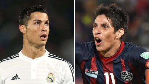 FIFA Club World Cup: Real Madrid vs. San Lorenzo (Saturday, Live on FOX Sports 2, 2.30 p.m ET)