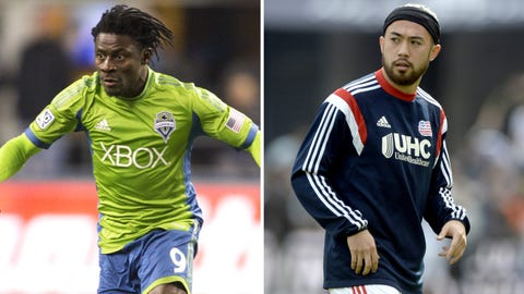 Seattle Sounders – New England Revolution – Sunday, March 8, 9:30 p.m. ET (FOX Sports 1)