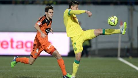 Alejandro Bedoya, Nantes midfielder