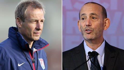 Jurgen Klinsmann v. Don Garber