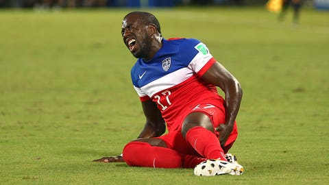Jozy Altidore suffers hamstring strain against Ghana