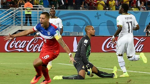 Clint Dempsey starts the World Cup with a bang