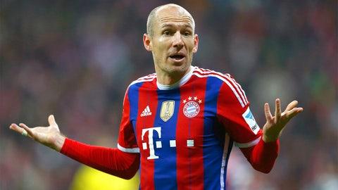 Arjen Robben (Bayern Munich, Netherlands)