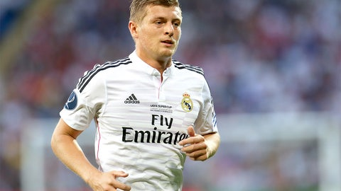 Toni Kroos (Real Madrid, Germany)