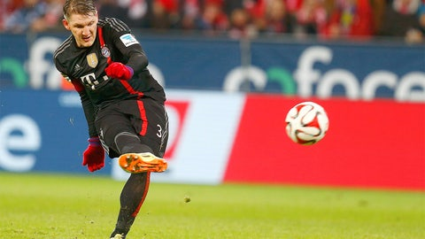 Bastian Schweinsteiger (Bayern Munich, Germany)