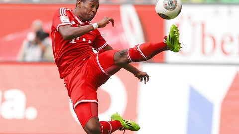 David Alaba (Bayern Munich, Austria)
