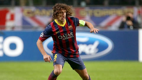Carles Puyol (Spain, defender)