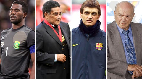 Remembering the football figures that we lost in 2014