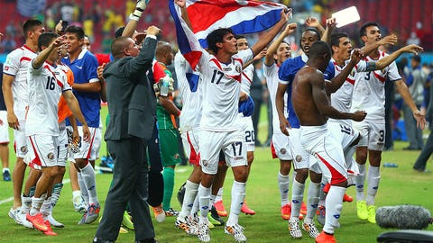 Costa Rica goes on a dream World Cup run