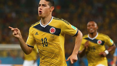 World gets to know Colombia's James Rodriguez first hand