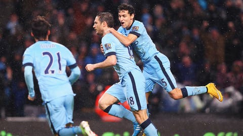 Frank Lampard reinforces his enduring value to Manchester City
