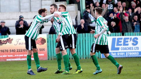 Blyth Spartans take advantage of their day out
