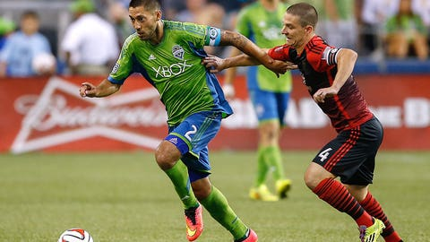 August 30: Seattle Sounders v. Portland Timbers