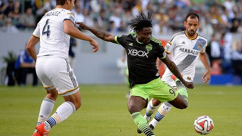 October 14: Seattle Sounders v. LA Galaxy (FOX Sports 1)