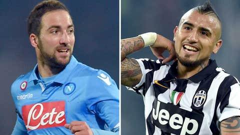 Serie A: Napoli vs. Juventus, live, Sunday, 2:45 p.m. ET